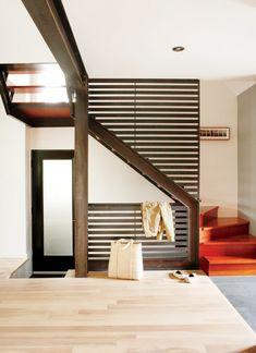 Espace ouvert dans une maison de banlieue Page 3 - Décormag - beautiful modern stairs!