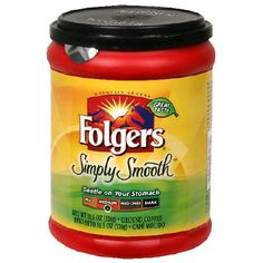 Folgers Simply Smooth Ground Coffee, 11.5-Ounce Tubs (Pack of 6) - http://www.freeshippingcoffee.com/brands/folgers/folgers-simply-smooth-ground-coffee-11-5-ounce-tubs-pack-of-6/ - #Folgers