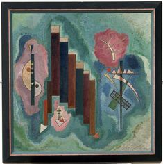 Wassily Kandinsky - Downwards