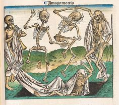 Imago Mortis --- devil's dance in the Nuremberg Chronicle by peacay, via Flickr