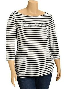 Women's Plus Sequined-Graphic Tees | Old Navy