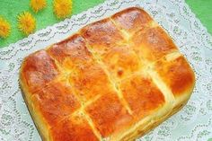 Easy sheet bread with feta cheese/ Bulgarian recipe Eastern European Recipes, European Cuisine, My Recipes, Dessert Recipes, Favorite Recipes, Bulgarian Recipes, Cheese Pies, Canadian Food, Home Baking