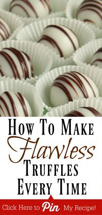 Step by Step Tutorial for Making Truffles! We'll show you how to make flawless truffles EVERY TIME in our step by step tutorials! World's EASIEST truffle recipe Included! Oreo Cookie Truffles, Homemade Truffles, Homemade Candies, Chocolate Truffles, Cookie Desserts, Chocolate Recipes, Diy Truffles, How To Make Truffles, Truffles For Sale