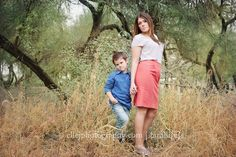 sassy mother/son posing
