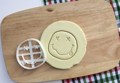 Nirvana Cookie Cutter Nirvana Logo Cookie Cutter Kurt Cobain Dave Grohl Cupcake topper Fondant Gingerbread Cutters - Made from Eco Material