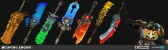 WildStar_Various_Swords