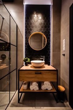Best Bathroom Designs, Bathroom Design Luxury, Modern Bathroom Decor, Bathroom Design Small, Home Interior Design, Industrial Bathroom Design, Wc Design, Toilet Design, Design Ideas