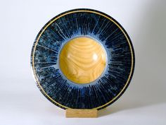 Silver Centrifuge Bowl - for sale http://woodturning.expert/Gallery/Wood%20Art%20Gallery%20Pieces.html