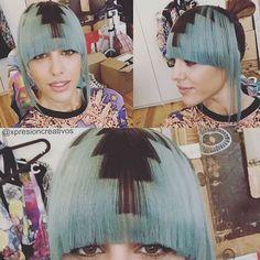 Nice hair for a beautiful eyes ! @teresa_bass ⚡️ #xpresionpixel ⚡️#pixelgirls #pixelatedhair #pixels #xpresionstudio #xpresioncreativos #hair #bluehair #turquoise #eyes