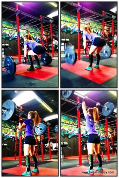 Liz Clean and Jerk