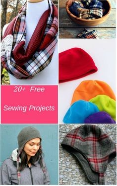 FREE PATTERN ALERT: 20+ Free Sewing Projects to Keep You Warm Get free access to 20 sewing projects to make during winter season! Great for beginners!