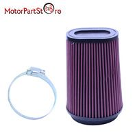 Motorcycle Air Filter for Yamaha 3502 Banshee 350 Replacement Air Filter Pro Design Trinity Flow Kit YA3502 #