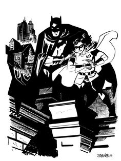Batman and Robin by Chris Samnee