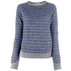 $175 T by Alexander Wang http://roanshop.com/womens-clothing/t-by-alexander-wang-striped-sweater.html