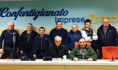 12/3/2016. Marco Sensi è stato confermato alla guida di Confartigianato Trasporto Merci