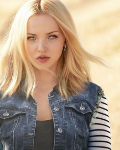 Dove Cameron As Android 18 By Bosslogic Gal Gadot, Actrices Blondes, Dov Cameron, Dove Cameron Style, Girl Face, Hair Looks, American Actress, Dragon Ball, Celebs