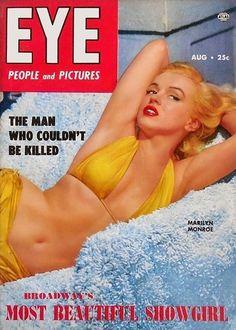 Marilyn Monroe - Eye, Aug, 1953.