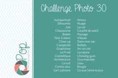 Projets photos annuels