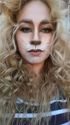 Halloween makeup  maquillaje leon lion
