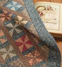 Civil War Legacies. I love this old fashioned quilt!!