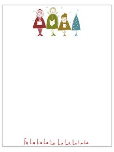 Christmas Letter & Card Printables from BHG [ PensByUwe.com ] #pens #handcrafted #gift
