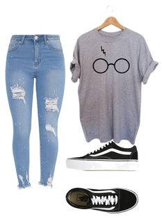 """""""Untitled #37"""" by rooloyola on Polyvore featuring beauty and Vans"""
