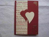 Einladungskarte Einladung Goldene Hochzeit 028