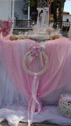 ΣΤΟΛΙΣΜΟΣ ΓΑΜΟΥ - ΒΑΠΤΙΣΗΣ :: Στολισμός Γάμου Θεσσαλονίκη και γύρω Νομούς :: ΣΤΟΛΙΣΜΟΣ ΓΑΜΟΒΑΠΤΙΣΗΣ ΝΕΡΑΙΔΑ - ΚΩΔ.: PS-125 Sugar Plum Fairy, Baby Shower, Christening, Bloom, Table Decorations, Top, Home Decor, Fashion, Faeries
