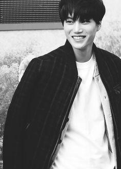 Kai - EXO this cute smile! Exo Kai, Baekhyun Chanyeol, 2ne1, Btob, Culture Pop, Kim Jongin, Big Bang, Wattpad, Korean Celebrities