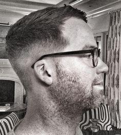 """Mens fade .. The """"Ryan Gosling"""" haircut / military hair cut / clipper cut / mens haircut / Sam  Easley /"""