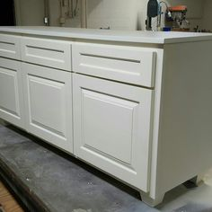 Delivered this storage credenza today which has large pull out drawers on the bottom.