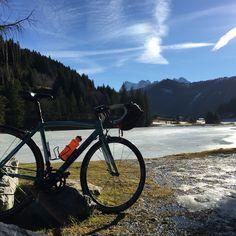 Pas de Morgins on the French/Swiss border on Christmas Day