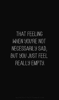 really empty
