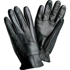 LEATHER DRIVING GLOVES- M