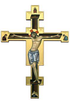 Crucifixion / Cruce. Catedrala Mitropolitana, Iasi - Ierom. Mihail