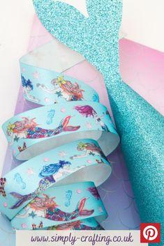 Mermaid Friends 25mm x 20m Reel  #simplycrafting #ribbons #ribbon #berisfords