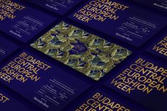 Kissmiklos shared an awesome brand identity for The Hungarian Fashion and Design Agency, a firm which helps Hungarian designers to be exhibitions Visual Identity, Brand Identity, Design Agency, Branding Design, Branding Agency, Brand Board, Season Colors, European Fashion, Portfolio Design