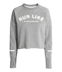 Workout Sweatshirt | H&M Sport