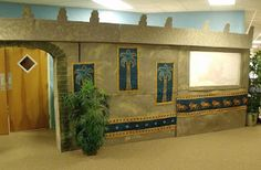 Lots of decorating inspiration for Babylon VBS