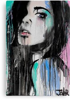 Art Pop, L'art Du Portrait, Art Inspiration Drawing, Portrait Inspiration, Ouvrages D'art, Face Art, Canvas Art Prints, Wall Prints, Art Paintings
