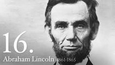 ABRAHAM LINCOLN (16th U.S. PRESIDENT) _____________________________ Reposted by Dr. Veronica Lee, DNP (Depew/Buffalo, NY, US)