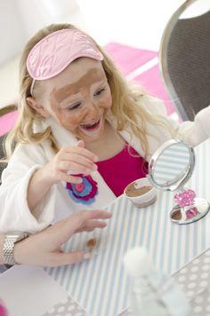 Sweet Spa Party: DIY Chocolate Facials