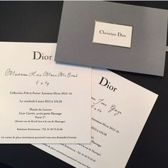 Dior fashion show invitation Dior Fashion, Fashion Week, Fashion Brand, Fashion Design, Trendy Fashion, Runway Fashion, Invitation Card Design, Invitation Cards, Invitations