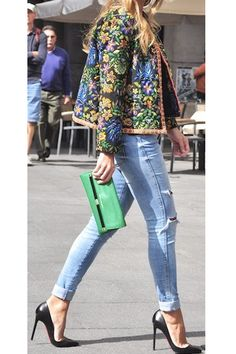 embroidered, embellished jacket. yes.