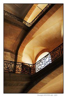 Hôtel-Dieu - Cage d'escalier