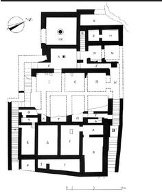 Fig . 3 Plan of the building at Klimataria-Manares(after Mantzourani and Vavouranakis 2005, 13).  Maud Devolder - Academia.edu
