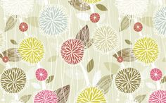 Pom Poms by @Friztin - @Spoonflower - Fabric / Wallpaper / Gift Wrap