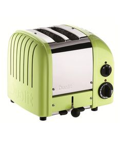 Take a look at this Lime Green Classic Two-Slice Toaster by Dualit on #zulily today!