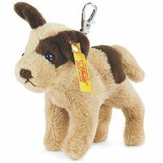Steiff EAN 112362 Keyring Strolch Dog