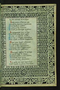 W.494, LACE BOOK OF MARIE DE' MEDICI 45r